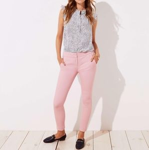 NWT LOFT Skinny back split pants in Marisa fit 12
